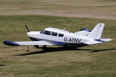G-ATNV (LIAM J McMANUS - Manchester Airport Photostream) Tags: gatnv piper pa24 comanche pipercomanche cityairportmanchester barton egcb