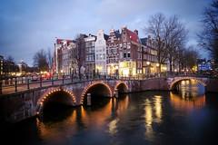 Amsterdam (rocco.telesca) Tags: holiday travel bridge lights canal urban city amsterdam longexposure g7x canon europe