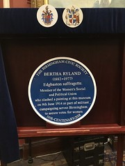 A Blue Plaque for suffragette Bertha Ryland (Birmingham City Council) Tags: bertha ryland bertharyland suffragette suffragettes brum birmingham suffrage100