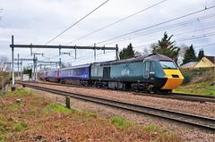 43004 (stavioni) Tags: great western railway high speed train inter city intercity 125 power car class43 rail first fgw gwr hst