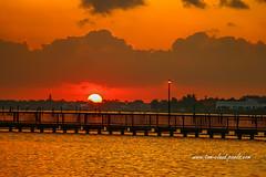 River Sunrise (tclaud2002) Tags: sun sunrise horizon morning clouds cloudy sky weather nature mothernature river pier color light saintlucieriver downtown stuart florida usa