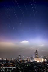 16nov18night-1 (Paniwat) Tags: nightscape city bangkok thailand star trails