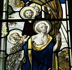 Brynweglwys Church (Richard Holland) Tags: bryneglwys denbighshire northwales medievalchurch stainedglass apostles disciples