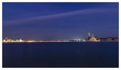 evening lights (Hansoul0) Tags: venice canal evening water nightphotography night longexposure lighttrails