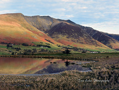 Tewit Tarn with Blencathra reflected. (trev.eales) Tags: tewittarn blencathra tarn keswick saddleback reflections water mountain mountainside landscape lakedistrict nationalpark cumbria nikon treveales