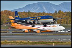 N451CE Everts Air Cargo (Bob Garrard) Tags: n451ce everts air cargo douglas dc6a r6d1 liftmaster us navy buno 131609 n840cs anc panc