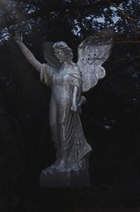 Guardian Angel (James Alex Andrews) Tags: image old photography photo graveyard ghost town grave interesting sculpture impressive angel guardian statue photograph photoshop phantasm phantom art artistic mausoleum haunted abandoned antique geist cemetery cementerio cenotaph death dead tod muerte muerto yard dark goth gothic gothique gotisch gótico momento mori cgth glenwood houston tx texas skyline fog mist mourn eerie spooky angels cherub cherubs eternal slumber grain grainy look cool awesome eclectic avant garde avantgarde experimental unorthodox