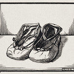 Pair of shoes (1921) by Julie de Graag (1877-1924). Original from The Rijksmuseum. Digitally enhanced by rawpixel thumbnail