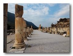 The Temple of Artemis, Ephesus. (natureflower photography) Tags: temple artemis ephesus ancient city near modern town selçuk turkey one seven wonders world unesco heritage site landscape
