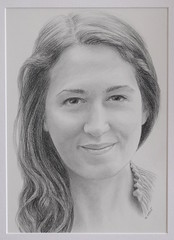 Clara *Explore* (bellydanser) Tags: portrait people face faces artwork fineart drawing graphite monochrome blackandwhite bw pencil pencildrawing