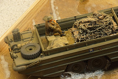 DUKW (66Alpine) Tags: dukw duck royalarmyservicecorp normandy dday model diorama soldiers ww2 beaches loads amphibian