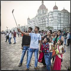 #Selfie-Stick-It-To-MeToo (channel packet) Tags: india mumbai taj hotel waterfront people social media selfie stick davidhill