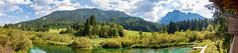 Zelenci Panorama (deepskywim) Tags: landschappen bergen panorama meren zelenci kranjskagora kranjskagoramunicipality slovenia si