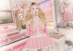 Etoile (Gabriella Marshdevil ~ Trying to catch up!) Tags: sl secondlife cute kawaii doll etoile pastel wasabipills laq