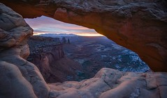 Mesa Arch, Utah, United States (christopherhawkinsimages.com) Tags: nature landscape arch desert winter canyonlands canyon