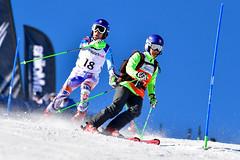La Molina 2019 World Para Alpine Skiing World Cup - Day 4 (Paralympic) Tags: kubackamarek guidezatovicovamaria b1 svk wpas2019alpineskiingworldcup lamolina spain alpineskiing parasport slalom