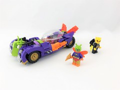 The Moth-Mobile (Tim Lydy) Tags: car moth mothmobile gotham batman dc firefly killermoth lego