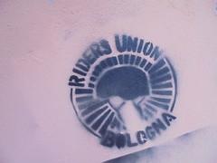 872 (en-ri) Tags: riders bologna nero stencil spray wall muro graffiti writing casco