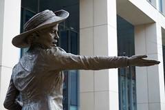 Emmeline Pankhurst. (Christine Dolan) Tags: pankhurst statue votes for women manchester
