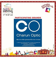 Charun Optic Participating Eyewear Store in Vibrant Gujarat Amdavad Shopping Festival  COME SHOP for just Rs.500 @ Charun Optic &  Get Assured ASF Lucky Draw Coupon &  Win Next Day  For Ex :- If your purchase is Rs.4500 you will get 9 coupons  19 Bumper P (Charun Optic) Tags: nrieyewear shoppingfestival reflectors globalsummit charunoptic nri discounts celebrationkhushiyonka nrispectacles shopping sunglasses spectacle ahmedabadshoppingfestival2019 eyewear nricollection amdavadshoppingfestival offers luckydraw optician schemes asf2019 bumperprizes asf polarised prizes luxury eyeglasses vibrantgujarat ahmedabad fashion