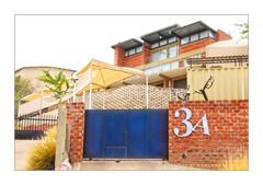 Number 3A (Daniela 59) Tags: house housenumber 3a gate wall wednesdaywalls bricks brickwall architecture myhometownwindhoek windhoek namibia urban urbanimpressions window windowwednesday danielaruppel