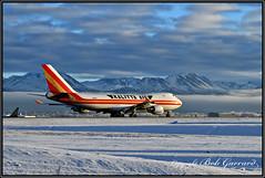 N403KZ Kalitta Air (Bob Garrard) Tags: n403kz kalitta air boeing 747 snow anc panc