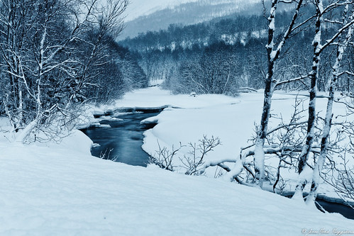 Rivière à Oldervik
