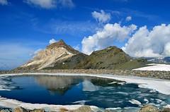 Bacino  Cime Bianche , 2980 m (dino_x) Tags: panorama landscape mountains alpi alps lago lake water acqua montagna allaperto nature riflessi reflections paesaggio roccia neve ghiaccio italy cervino