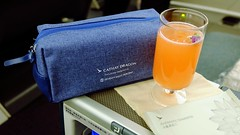 Onboard A333 Business Class - Cathay Dragon (Matt@PEK) Tags: cathaydragon oneworld businessclass
