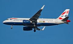 G-EUYU - Airbus A320-232 - LHR (Seán Noel O'Connell) Tags: britishairways ba shuttle geuyu airbus a320232 a320 heathrowairport heathrow lhr egll 27r man egcc ba1389 sht3r aviation avgeek aviationphotography planespotting