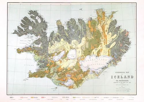 20-Affiche // 50x70cm // Iceland Geology