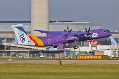 G-JEDW DHC-8Q 402 Flybe MAN 18-11-18 (PlanecrazyUK) Tags: egcc manchester ringway manchesterairport gjedw dhc8q402 flybe man 181118