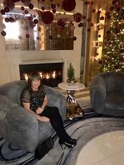 Happy Christmas😘 (Miss Nicole Sanderson) Tags: smile chanel sweet sexy gorgeous beautiful pretty shortdress dress tights highheels heels legs lesbian transexual transgender ts tg woman lady girlie girly girl