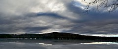 2018_1222First-Full-Day-Of-Winter-Pano0001 (maineman152 (Lou)) Tags: panorama westpondpanorama pond frozen frozenover frozenwater frozenlake frozenpond weather winterweather firstdayofwinter nature naturephoto naturephotography landscape landscapephoto landscapephotography december maine