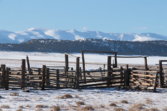 Corral (lars hammar) Tags: corral ranching colorado southpark fairplay winter snow mountains