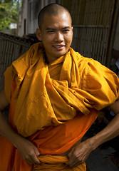 A Burmese Monk In Thailand (El-Branden Brazil) Tags: myanmar burma burmese monks buddhism buddhist southeastasia asian asia happyplanet asiafavorites