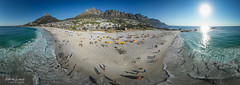 0160 Camps Bay - Cape Peninsula (Thomas Louis) Tags: westerncape southafrica za aerialphotography panorama 360degree drone campsbay cape