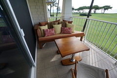 Fitted Teak Chaise