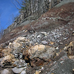 Paleosol (Cave Branch Member, Slade Formation, Upper Mississippian; Clack Mountain Road Outcrop, south of Morehead, Kentucky, USA) 26 thumbnail
