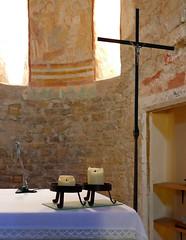 ESGLESIA DEE FONTCLARA - DETALL (Joan Biarnés) Tags: fontclara baixempordà girona catalunya fontanilles esglesia iglesia 290 panasonicfz1000