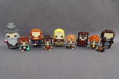 The Fellowship of the BrickHeadz (-Balbo-) Tags: lego moc lordoftherings hobbit creation bauwerk brickheadz brickhead herr der ringe fellowship ring frodo aragorn legolas gimli merry pippin boromir gandalf sam balbo die gefährten