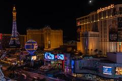 Paris - Las Vegas at Night