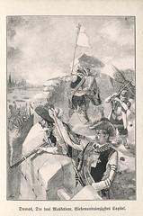 Die drei Musketiere, Illustration (altpapiersammler) Tags: old vintage alt zeichnung drawing draft illustration buch book lesen reading