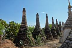 Nyaung Ohak pagodas, Inthein (26)