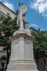 Aleardo Aleardi, 1812-1878. Italian poet.  Verona, Italy (R H Kamen) Tags: italy poet veneto veronaitaly day monument outdoors rhkamen sculpture statue verona