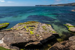 Green and blue sea, Isle of Noss, Shetland Islands (Fabien Guittard) Tags: landscape mer nature paysage printemps rocher rock sea spring travel voyage shetland scotlandunitedkingdom gb