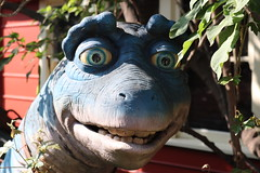 "One of the characters from the TV Series Dinosaurs at the Jim Henson Studios • <a style=""font-size:0.8em;"" href=""http://www.flickr.com/photos/28558260@N04/43986659650/"" target=""_blank"">View on Flickr</a>"