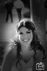 Lucky Bride (DJR-FOTO) Tags: bride braut schwarzweis bw blackwhite beautiful woman hübsch smile smileing beauty girl hotgirl hotwoman vingette wedding hochzeit