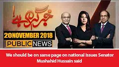 We should be on same page on national issues Senator Mushahid Hussain said (Zedflix) Tags: zedflix zflix live streaming news talkshows