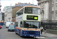 Dublin Bus RH147 (92D147). (Fred Dean Jnr) Tags: april2005 dublin dublinbus busathacliath dublinbusbluecreamlivery leyland olympian alexander r rh147 92d147 collegegreendublin dbrook